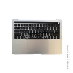"""Корпус в сборе Fully Assembled Topcase for MacBook Pro Retina 13"""", A1706, раскладка US, цвет Silver. Оригинал"""