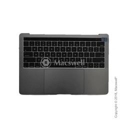 """Корпус в сборе Fully Assembled Topcase for MacBook Pro Retina 13"""", A1706, раскладка US, цвет Space Gray. Оригинал"""