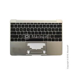 """Корпус с клавиатурой Topcase with Keyboard for MacBook Retina 12"""", A1534, 2015, раскладка US, цвет Silver. Оригинал"""