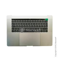 """Корпус в сборе Fully Assembled Topcase for MacBook Pro Retina 15"""", A1707, раскладка UK, цвет Silver. Оригинал"""