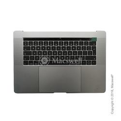 """Корпус в сборе Fully Assembled Topcase for MacBook Pro Retina 15"""", A1707, раскладка UK, цвет Space Gray. Оригинал"""