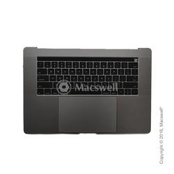 """Корпус в сборе Fully Assembled Topcase for MacBook Pro Retina 15"""", A1707, раскладка US, цвет Space Gray. Оригинал"""