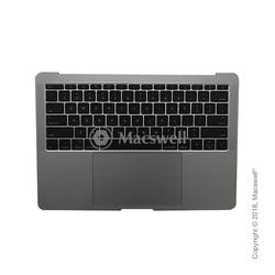"""Корпус в сборе Fully Assembled Topcase for MacBook Pro Retina 13"""", A1708, раскладка US, цвет Space Gray. Оригинал"""