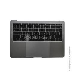 """Корпус в сборе Fully Assembled Topcase for MacBook Pro Retina 13"""", A1708, раскладка UK, цвет Space Gray. Оригинал"""