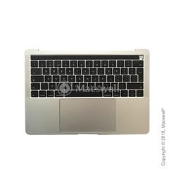 """Корпус в сборе Fully Assembled Topcase for MacBook Pro Retina 13"""", A1706, раскладка UK, цвет Silver. Оригинал"""