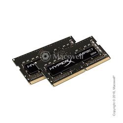 Модуль пам'яті SO-DIMM DDR4 16Gb (8Gb x 2) 2400MHz Kingston HyperX Impact (HX424S14IB2K2 / 16):