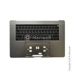 """Корпус с клавиатурой Topcase with Keyboard for MacBook Pro Retina 15"""", A1707, раскладка US, цвет Space Gray. Оригинал"""