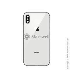 Корпус для Apple iPhone Xs, колір Silver. Оригінал
