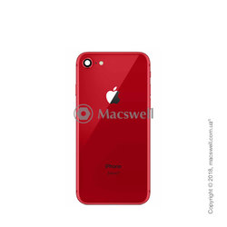 Корпус для Apple iPhone 8, цвет (PRODUCT)RED. Оригинал