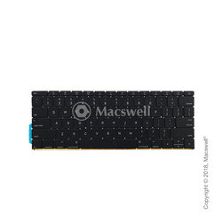 "Клавіатура Keyboard for MacBook Retina 12"", A1534, 2015, UK. Оригінал"