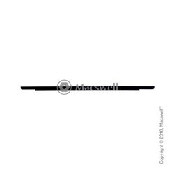 Скляна панель з логотипо Glass panel/Logo Board for MacBook Retina 12
