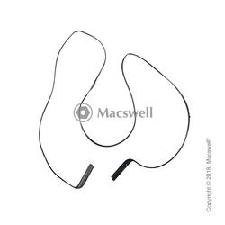 """Резиновая рамка для дисплея Display Bezel Rubber for MacBook Pro Retina 15"""", A1707"""