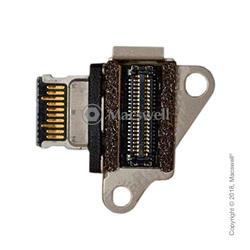 "Роз'єм USB-C для шлейфа DC-IN I/O USB-C Power Jack Cable for MacBook Retina 12"", A1534, 2015"