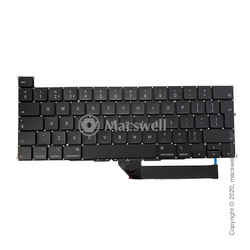 "Клавиатура Keyboard for MacBook Pro Retina 16"", 2019, A12141, раскладка UK. Оригинал"