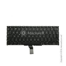 "Клавіатура Keyboard for MacBook Air 13"", A1369/A1466, 2012-2017, розкладка UK. Оригінал"