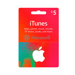 Подарунковий сертифікат Apple iTunes Gift Card $5, US
