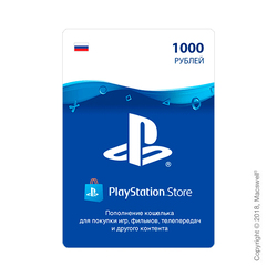 PlayStation® Network Gift Card 1000 RUB