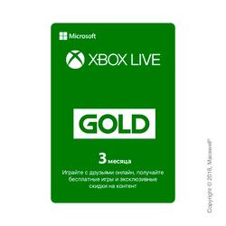 Xbox Live Gold 3 месяца – RU/TR регионы