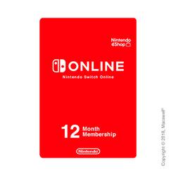 Nintendo Switch Online, индивидуальное членство 12 месяцев, RU регион